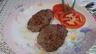 Вкусные котлеты из говядины