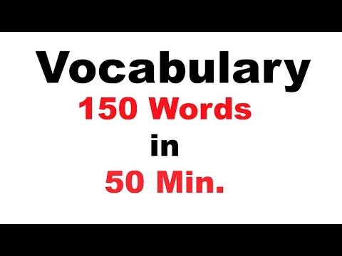 English Vocabulary For Bank po and SSC CGL