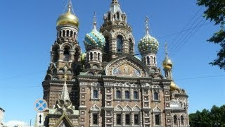 THE CHURCH of OUR SAVIOUR on SPILLED BLOOD, St PETERSBURG, RUSSIA