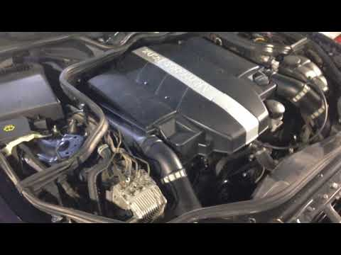 Мерседес W211 замена двигателя 112-го с 2.6 на 3.2