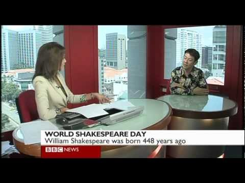 Ivan Heng on the BBC | World Shakespeare Day 2012