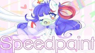 Speedpaint MLP - !Wrong diagnosis! (Pastel gore)