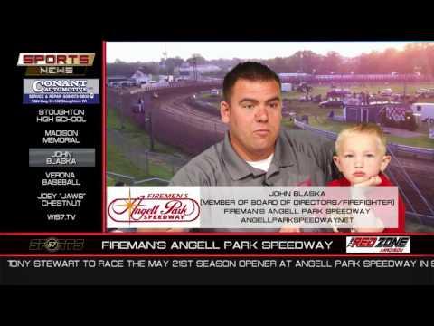 WI57   The Sports News   John Blaska   Fireman's Angell Park Speedway   04 30 17