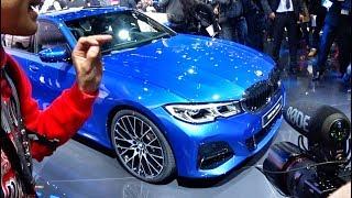 Новая BMW 3-Series G20 2019 - автосалон в Париже