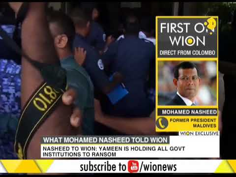 Maldives crisis deepens: What Mohamed Nasheed told WION