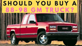 88-98 Chevy / GMC CK Truck Buyer's Guide (GMT400 Common Problems and Options) Stick Shift Stories E1