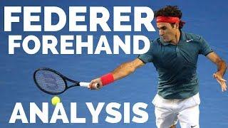 Roger Federer Forehand Analysis 2019