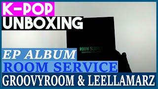 Unboxing groovyroom & leellamarz [room service] 그루비룸 릴러말즈 ep album kpop 케이팝 언박싱 힙합
