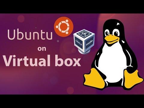 Install ubuntu on virtual box | 2018