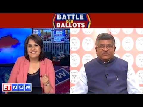 Saffron Holi For Uttar Pradesh | Ravi Shankar Prasad Speaks To ET NOW