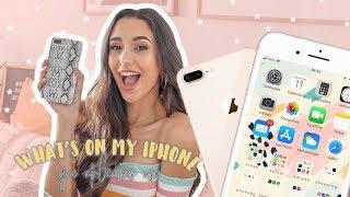 O QUE TENHO NO MEU IPHONE 8 PLUS? | Maria Rodrigues