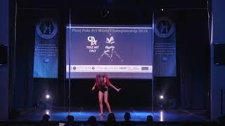 Evgenia Nikiforova  - World Pole Art Championship 2018
