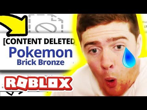 Pokemon Brick Bronze Got SHUT DOWN!