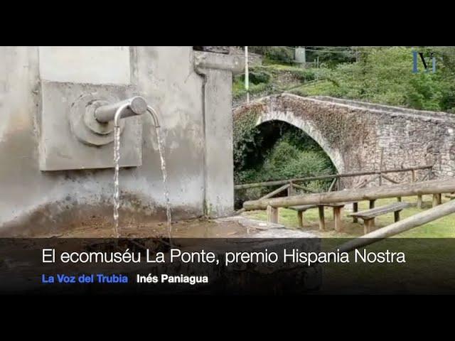 La Ponte, premio Hispania Nostra