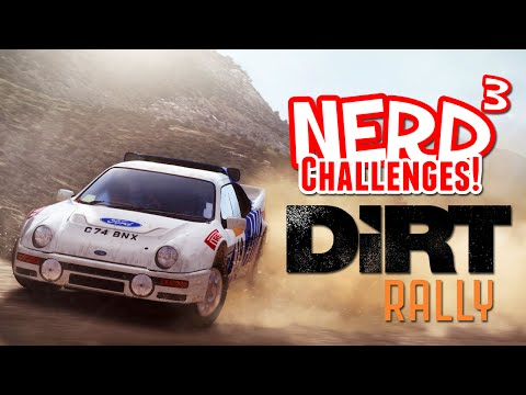 Nerd³ Challenges! Try Not To Lose! - DiRT Rally