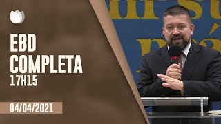 ESCOLA BÍBLICA DOMINICAL  17h15 | Rev. Nilson Junior | Igreja Presbiteriana de Pinheiros