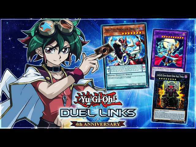 ARC V World IS NOT ONLY Pendulums.. Year 1 XYZ, SYNCHRO & FUSION Characters! | Yu-Gi-Oh! Duel Links