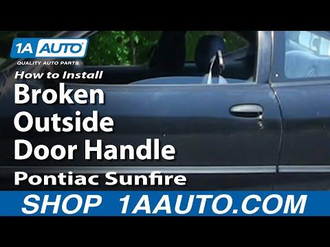 1999 PONTIAC SUNFIRE INTERIOR WINDOW CRANK HANDLE.USED.