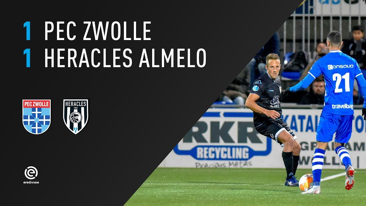 PEC Zwolle - Heracles Almelo | 27-10-2018 | Samenvatting