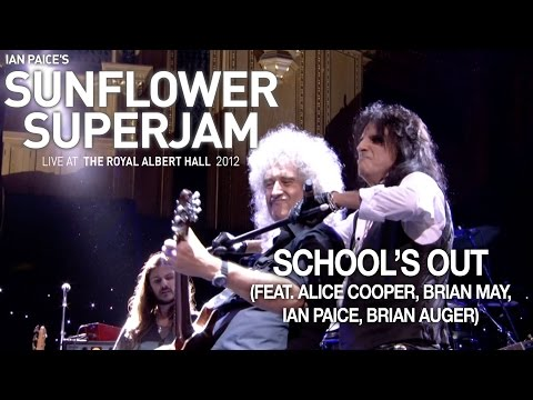 """Ian Paice's Sunflower Superjam 2012 """"School's Out (live)"""" (feat. Alice Cooper, Brian May, Ian Paice)"""