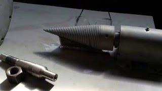 Дровокол однофазный своими руками Screw For Wood Splitter Made By Hands