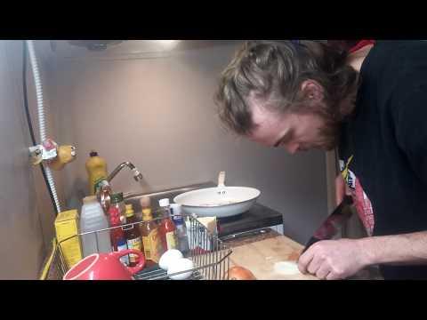 1 Pan Egg Sandwiches | 1 Cut Cooking