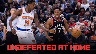 Raptors Remain UNDEFEATED at Home - Siakam and OG are BALLING - Raptors vs Knicks