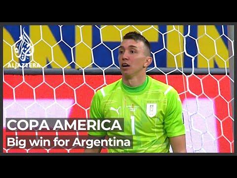 Argentina beat Uruguay 1-0 in Copa America