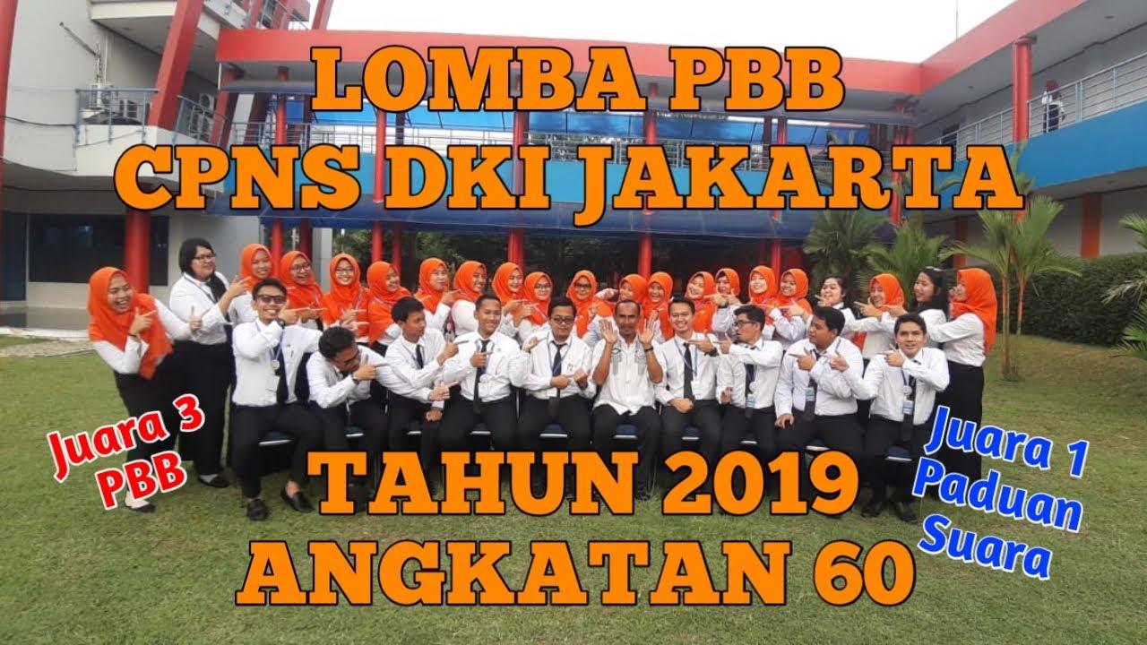 LOMBA BARIS BERBARIS (PBB) LATSAR CPNS DKI JAKARTA TAHUN ...