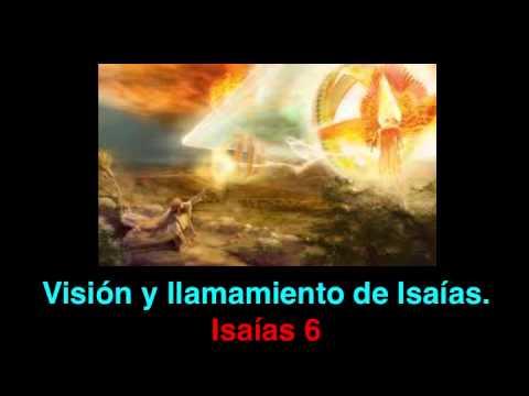 Visión y llamamiento de Isaías: Isaías 6 - YouTube