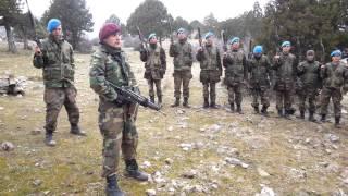 353. Dönem Camili Yayla Asteğmenleri 3. Takım Komando Andı