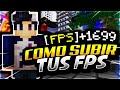 👉¡COMO TENER MINECRAFT MAS FLUIDO + FPS Y QUITAR EL LAG😱 - MINECRAFT 1.8|1.13