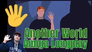 another world   amiga 1200 longplay walkthrough playthrough   out of this world