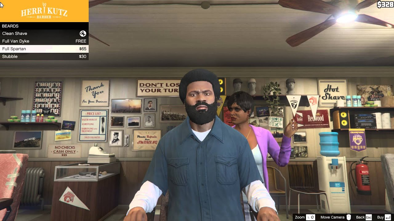 GTA V Bug: In Grand Theft Auto V Growing Hair & Shaving ...