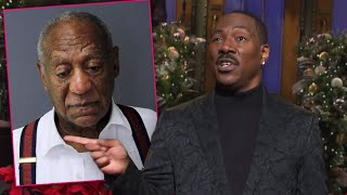 "Bill Cosby's Rep Called Eddie Murphy a ""Hollywood SLAVE"" for SNL comments: Did He Go"