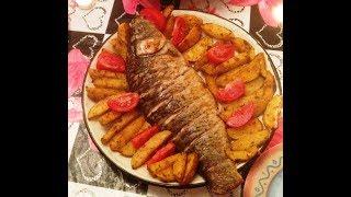 Рыба в духовке. Нежная и сочная рыба. Вкусный рецепт рыбы.