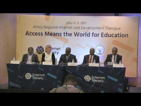 Session 01 African Regional Internet and Development Dialogue (RIDD 2017) Opening