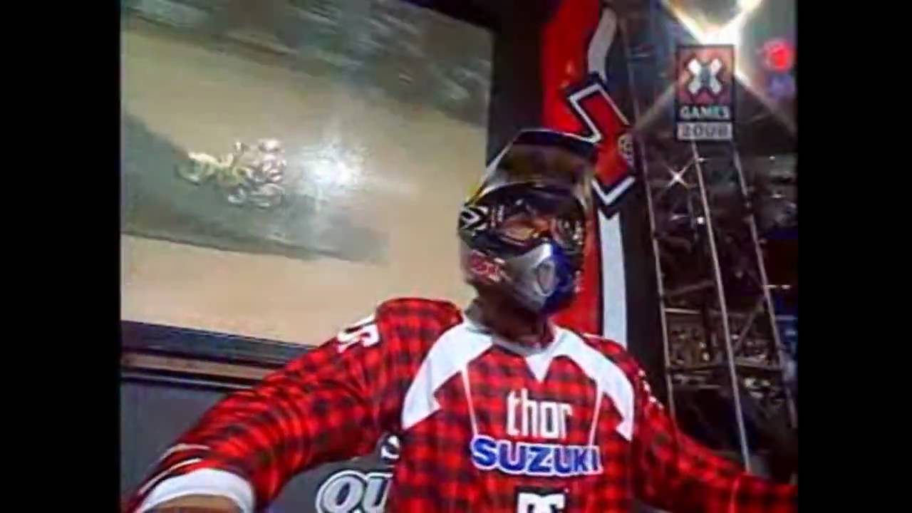 Free Car History Report >> X Games 2006 - Double Backflip from Travis Pastrana! - HD ...