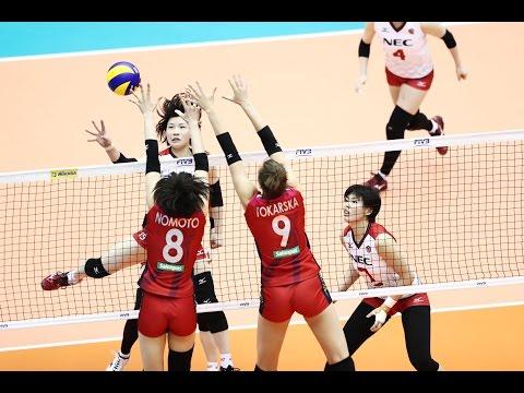 NEC Red Rockets vs Hitsamitsu Spring  | 14 May 2017 | 7-8th | Club World Women Championship 2017