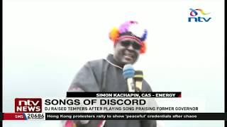 Group clash in West Pokot over choice of music praising former governor