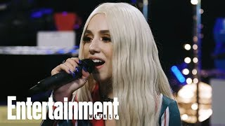 Gambar cover Ava Max Performs 'Freaking Me Out' | In the Basement | Entertainment Weekly