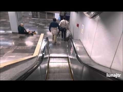 Transbordo Línea 4 con línea 9 Estación Jamaica