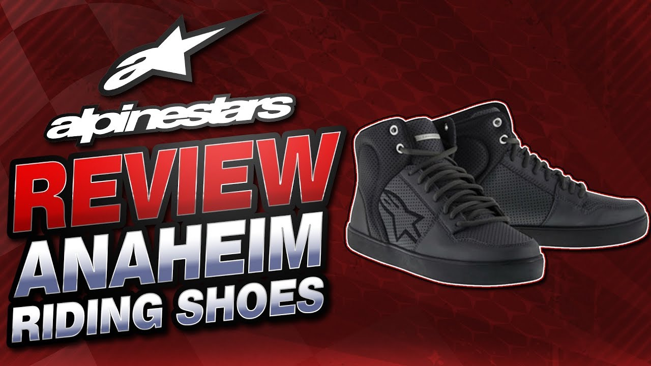 44de9d6a30 Alpinestars Anaheim Riding Shoe Review from Sportbiketrackgear.com ...