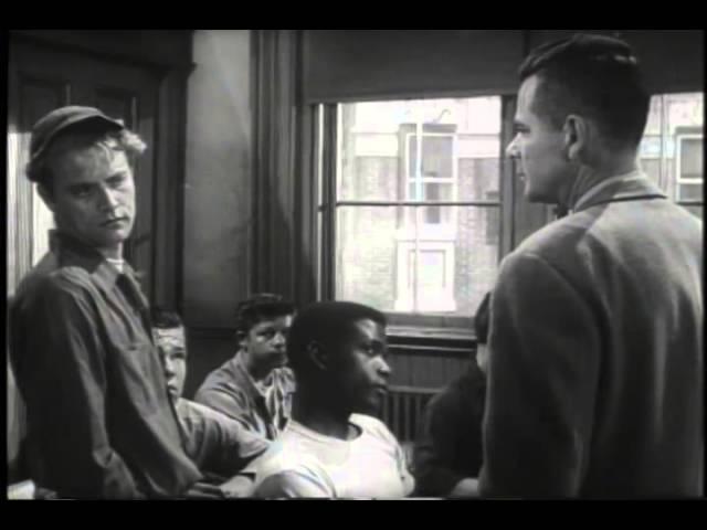 Blackboard Jungle Trailer 1955