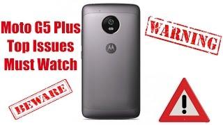 Moto G5 Plus Top Issues/Problems Retail Unit