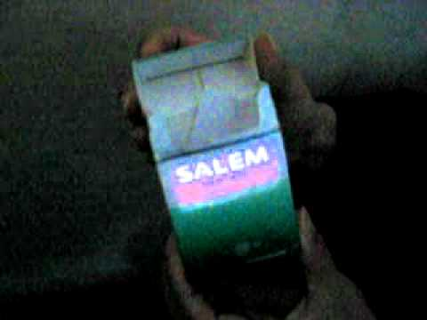 Salem EL Cigarette Package