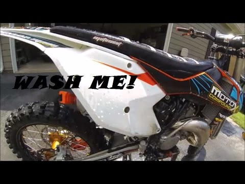 How to wash a Dirt Bike / Tips and Tricks