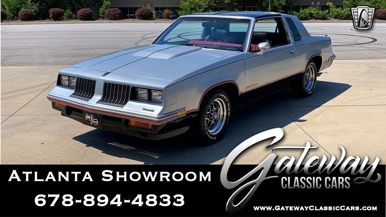 1984 Oldsmobile Cutlass - Gateway Classic Cars of Atlanta #1259