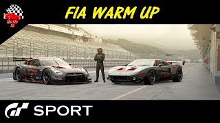 GT Sport FIA Warm Up