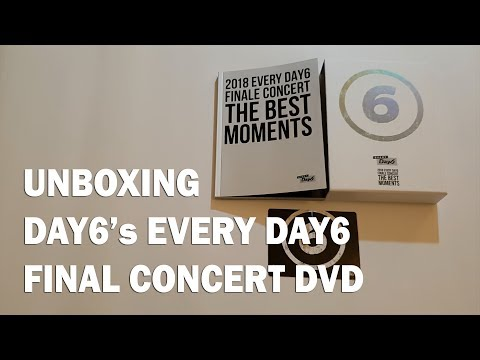 UNBOXING EVERY DAY6 FINALE CONCERT 2018 [THE BEST MOMENTS] DVD #HappyJaeDay #DAY6